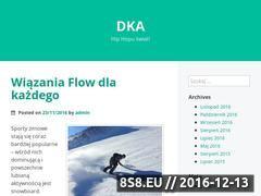 Miniaturka domeny www.dka.com.pl