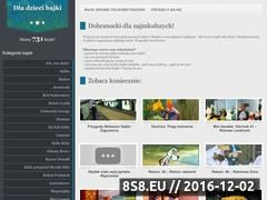 Miniaturka domeny www.dladziecibajki.pl