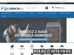 Miniaturka domeny dlagracza.com