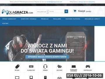Zrzut strony Sklep dlagracza.com