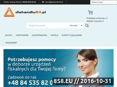 Miniaturka domeny www.dlahandlu24.pl