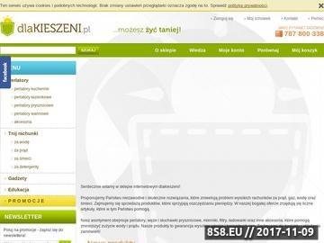 Zrzut strony Dlakieszeni.pl - Sklep z produktami oszczędzającymi