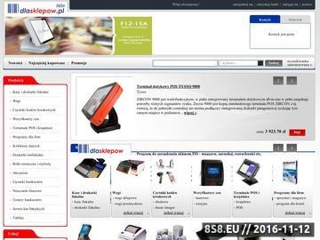 Zrzut strony Artykuły dla sklepów - dlasklepow.pl