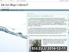 Miniaturka domeny dlugoizdrowo.blogspot.com