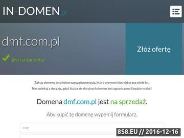 Zrzut strony Forum Dyskusyjne - dmf.com.pl