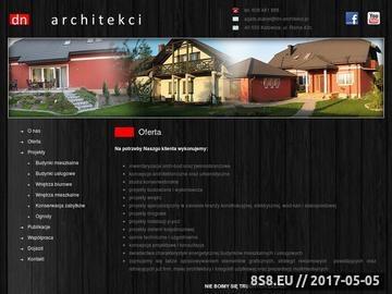 Zrzut strony DN Architekci - projekty hal magazynowych