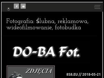 Zrzut strony Fotograf Gorzów Wlkp. - Do-ba Fot