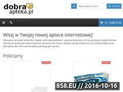 Miniaturka domeny www.dobra-apteka.pl