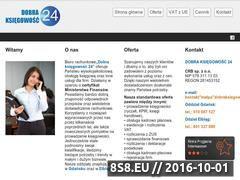 Miniaturka domeny dobraksiegowosc24.pl