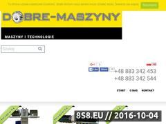 Miniaturka domeny www.dobre-maszyny.eu