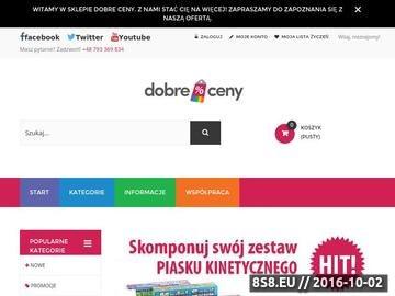 Zrzut strony Zajmujemy się handlem internetowym - hurt i detal