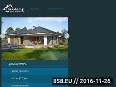 Miniaturka Projekty domów jednorodzinnych (www.dobredomy.pl)