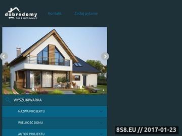 Zrzut strony Projekty domów