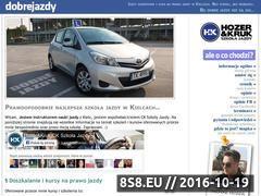 Miniaturka domeny www.dobrejazdy.pl