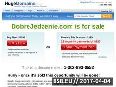 Miniaturka domeny dobrejedzenie.com