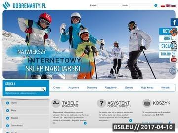 Zrzut strony Dobrenarty.pl - sklep snowboard