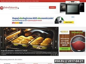 Zrzut strony Wszystko o piekarnikach w DobrePiekarniki.pl