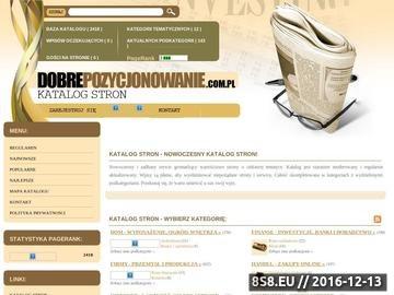 Zrzut strony Katalog WWW