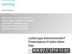 Miniaturka domeny www.dobretypy.net