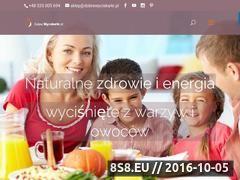 Miniaturka domeny www.dobrewyciskarki.pl