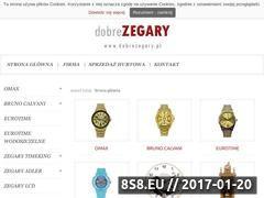 Miniaturka Zegary, zegarki, budziki - Dobrezegary.pl (www.dobrezegary.pl)