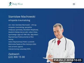Zrzut strony Ortopeda sportowy Warszawa