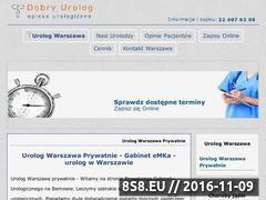 Miniaturka domeny dobry-urolog.warszawa.pl