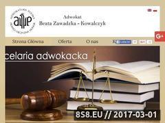 Miniaturka domeny www.dobryadwokat.org.pl