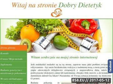 Zrzut strony Dobry dietetyk Warszawa