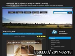 Miniaturka domeny dobryfilm.net