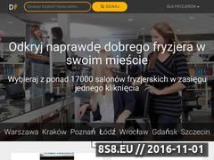Miniaturka domeny www.dobryfryzjer.pl
