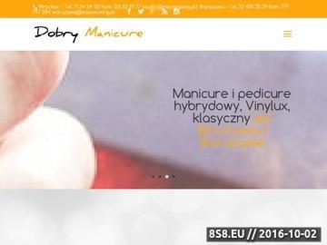 Zrzut strony Manicure Hybrydowy Wrocław