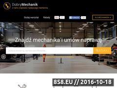 Miniaturka domeny www.dobrymechanik.pl