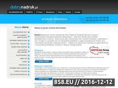 Miniaturka domeny www.dobrynadruk.pl