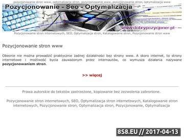 Zrzut strony Moderowany katalog www