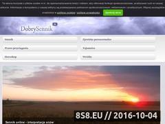 Miniaturka domeny www.dobrysennik.pl