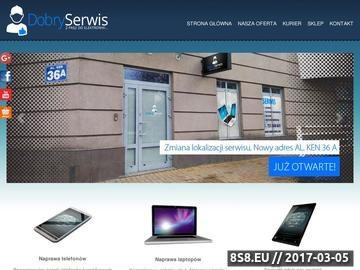 Zrzut strony Naprawa laptopa Warszawa