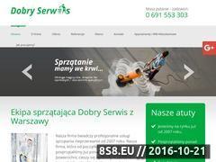 Miniaturka domeny www.dobryserwis.waw.pl