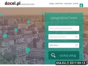Zrzut strony Docel - platforma nowych możliwości