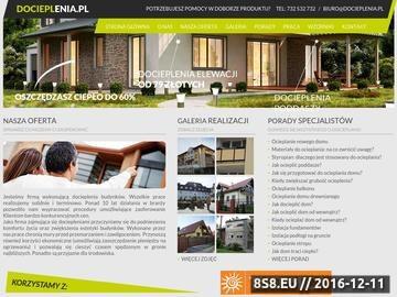 Zrzut strony Docieplenia.pl