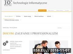 Miniaturka domeny www.docom.pl