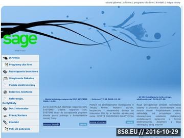 Zrzut strony DOC SYSTEMS