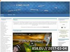 Miniaturka domeny dodatkowo.dbv.pl