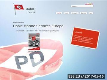 Zrzut strony DOHLE MANNING AGENCY szkolenia dla marynarzy