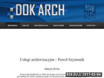 Zrzut strony Wojciech Karoń - magnetyczne nośniki informacji