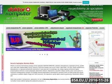 Zrzut strony Pogotowie komputerowe Bielsko-Biała, serwis komputerowy
