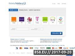 Miniaturka domeny www.doladujtelefon.pl