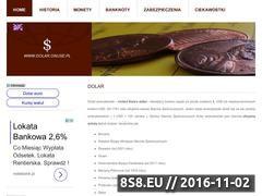 Miniaturka domeny www.dolar.onuse.pl