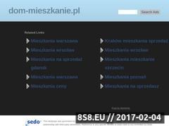 Thumbnail of Real Estate Agency in Warsaw, Poland Website
