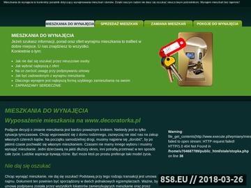 Zrzut strony Apartamenty w Warszawie - Pośrednik